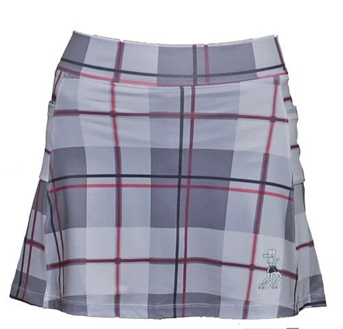 Athletic Skirt pink plaid