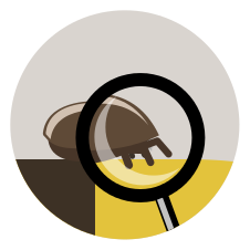 NFC Sticker PVC - BeeInTouch Aufdruck:Varroakontrolle