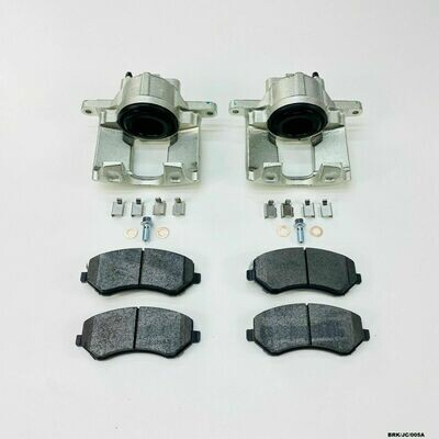 2 x Front Brake Caliper Repair KIT Jeep Wrangler YJ /& TJ 1990-2006 CRK//TJ//011A