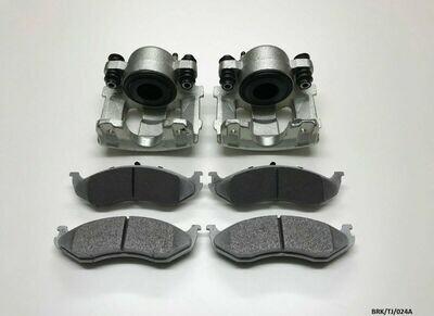 Front Brake Caliper Complete Repair KIT Jeep Commander XK 2006-2010 CRK//XK//001A