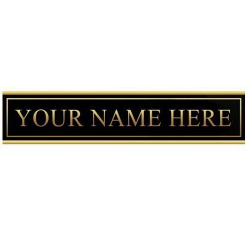 "9""x12"" Manager On Duty Extra Nameplate"