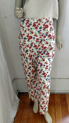 Womens Flower Pants W 30
