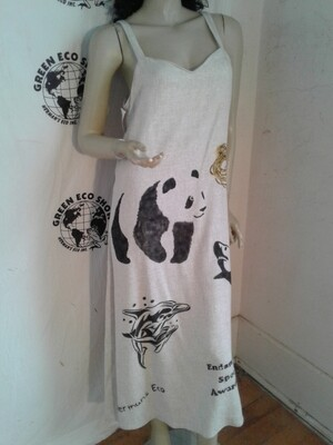 Endangered Species long dress  m to L  Hermans