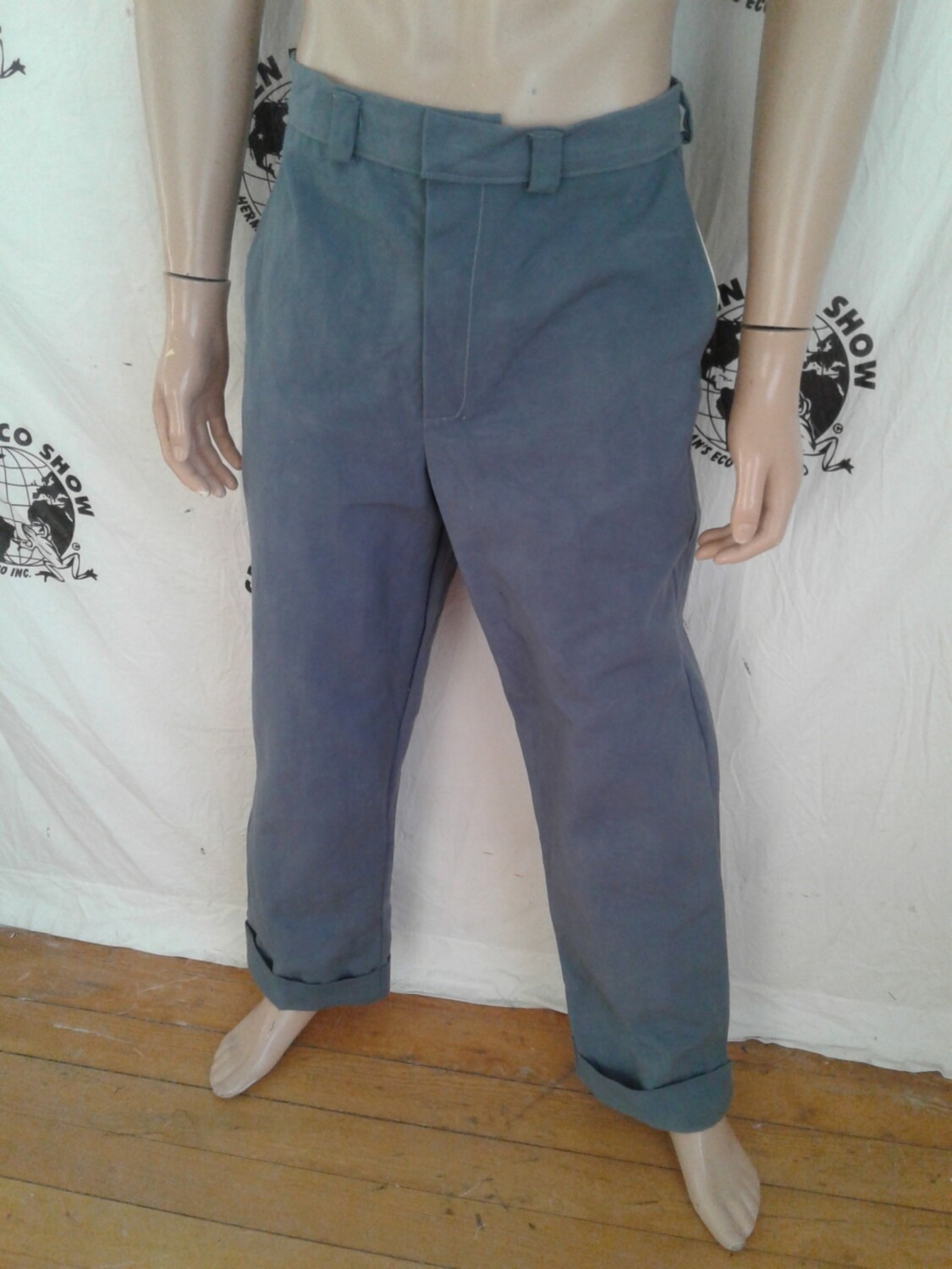 Organic cotton dress pants for Preston  gray 34