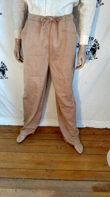 Organic cotton grown in USA large pants natural dyed