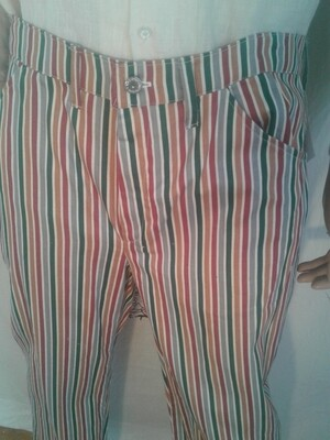 Hermans striped jeans 36 x 31