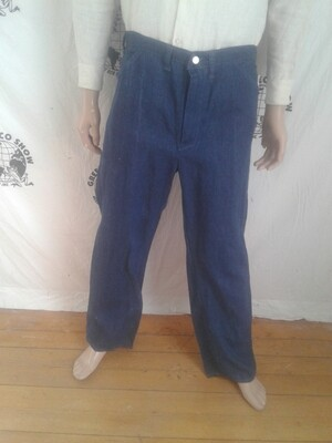 Hermans Hemp jeans hemp/cotton made in USA 36 X 32