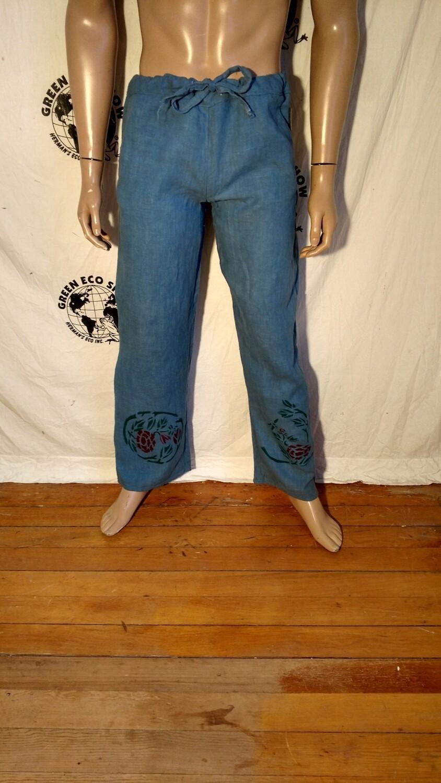 Hermans Hemp Drawstring pants M X 33