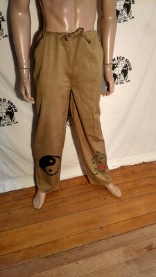 Hermans Eco organic cotton airbrushed  pants