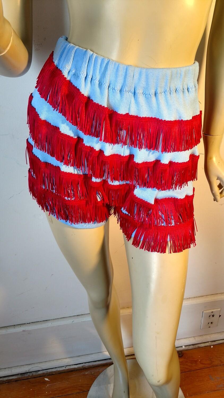 Sexy fringe shorts S