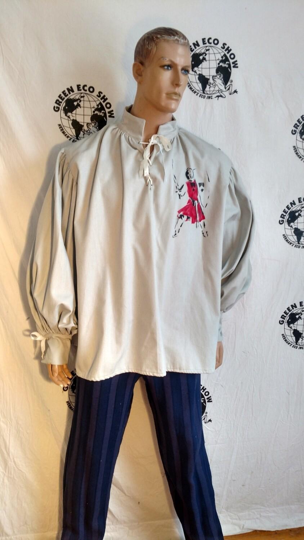 Swashbuckler shirt XL airbrushed knight