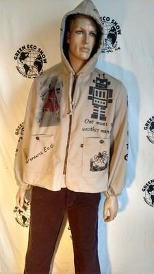 Grafitti Hoodie Jacket XL
