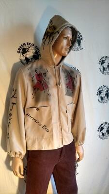 Grafitti Hoodie Jacket XL end corruption USA