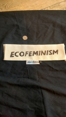 Ecofeminism patch USA