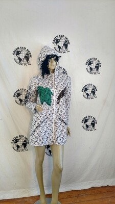 Grafitti dress Hermans M hoody jacket