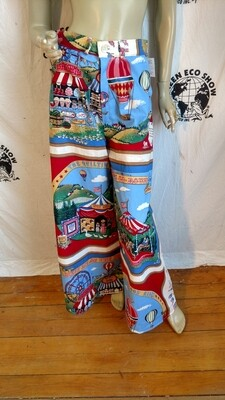 Womens hot aie ballon bells pants Med