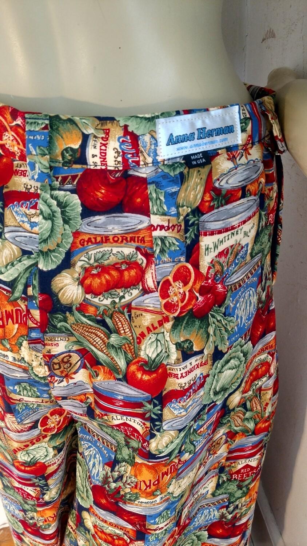 Hermans Bell bottom pants vegetables 28