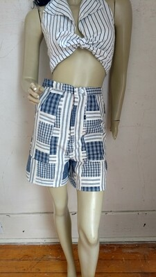 Patchwork womens shorts S Anna Herman USA