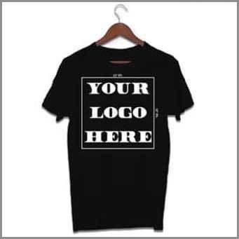 40 tshirts with One Color Logo 00056