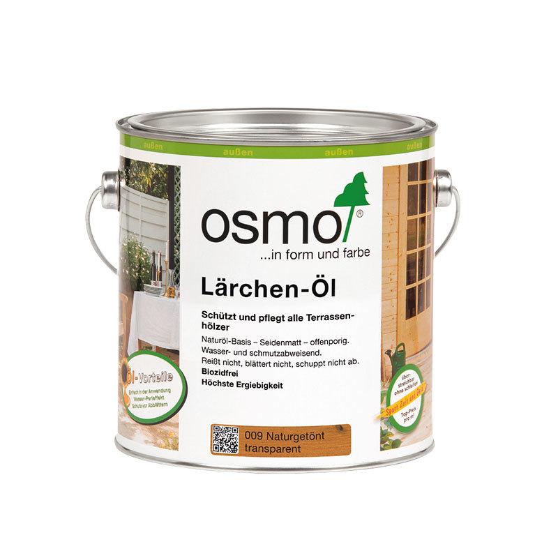 OSMO Lärchen-Öl 009 Naturgetönt, 2,5 L 207260005