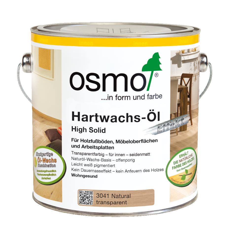 OSMO Hartwachs-Öl 3041 Natural,  2,5 L 207260127
