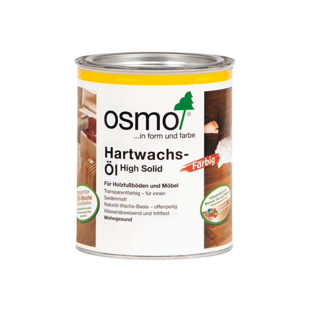 OSMO Hartwachs-Öl 3075 Schwarz, 750 ml 207260132