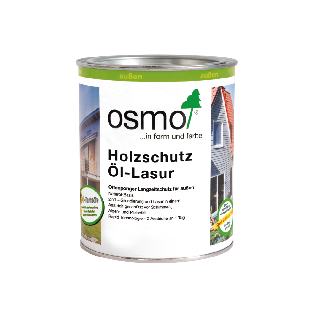 OSMO Holzschutz Öl-Lasur 727 Palisander, 750 ml 207260102