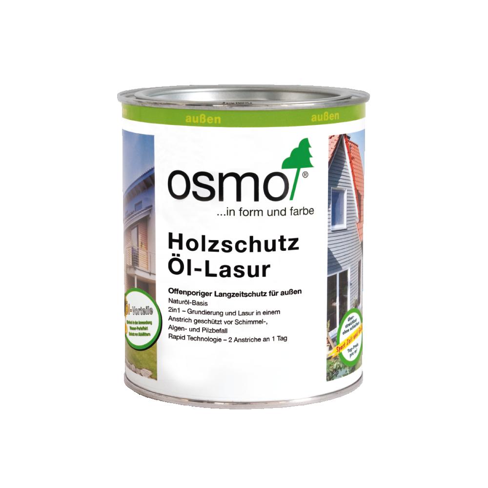 OSMO Holzschutz Öl-Lasur 907 Quarzgrau, 750 ml 207260118