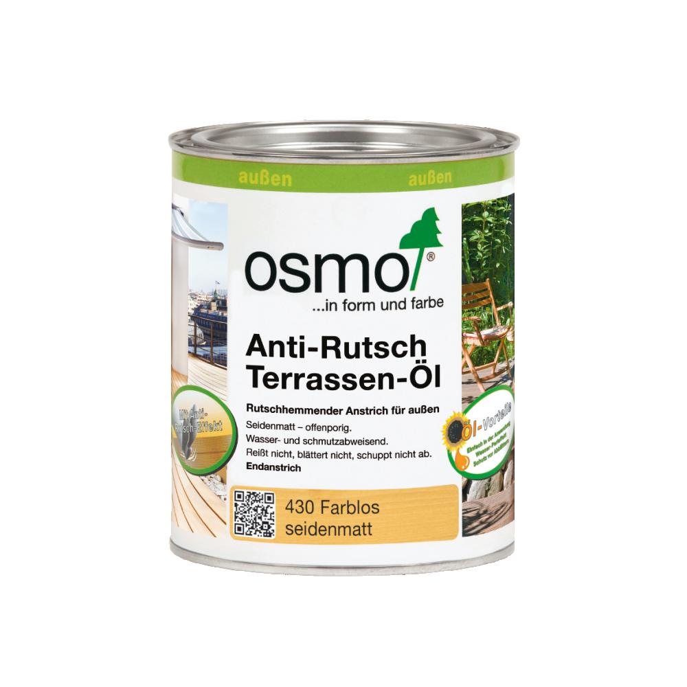 OSMO Terrassen-Öl 430 Anti-Rutsch Farblos, 750 ml 207260068