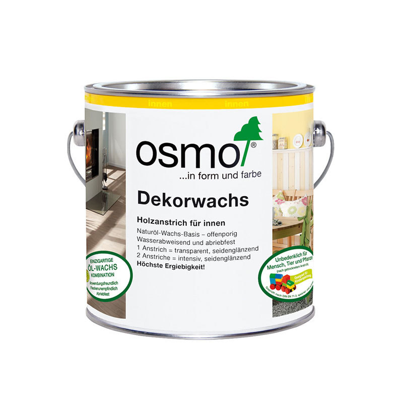 OSMO Dekorwachs 3186 Weiß Matt Intensiv, 750 ml 207260155