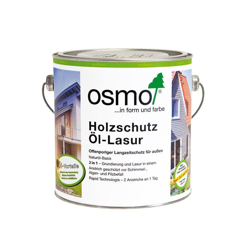 OSMO Holzschutz Öl-Lasur 729 Tannengrün, 750 ml 207260506