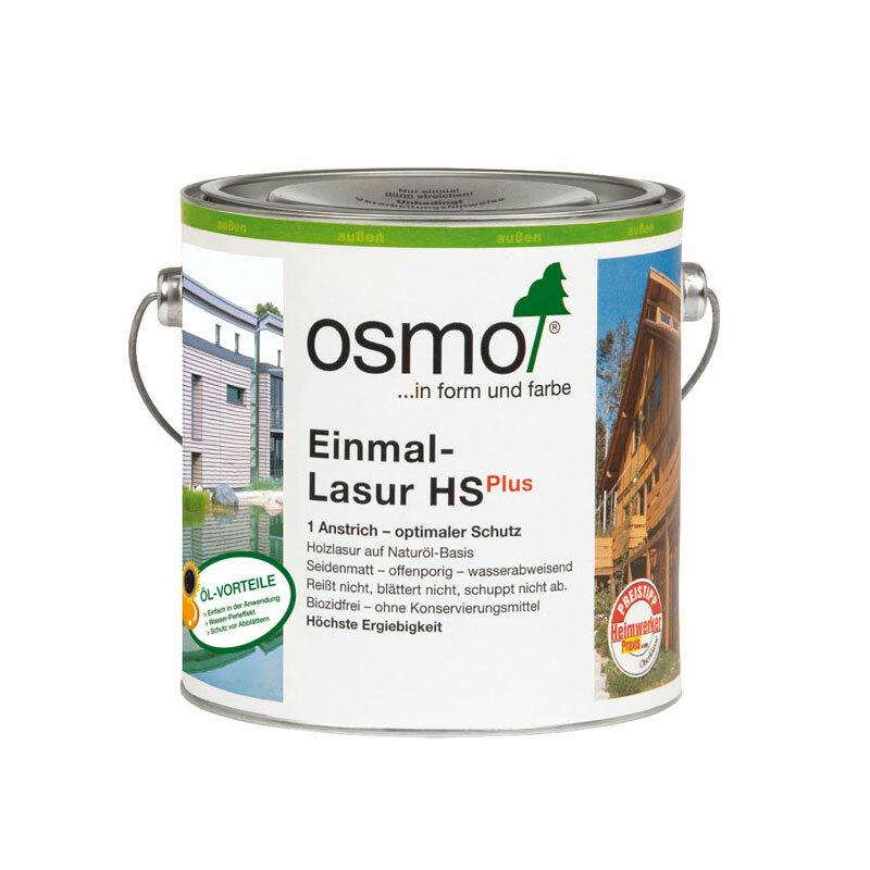 OSMO Einmal-Lasur HS Plus 9235 Rotzeder, 750 ml 207260529