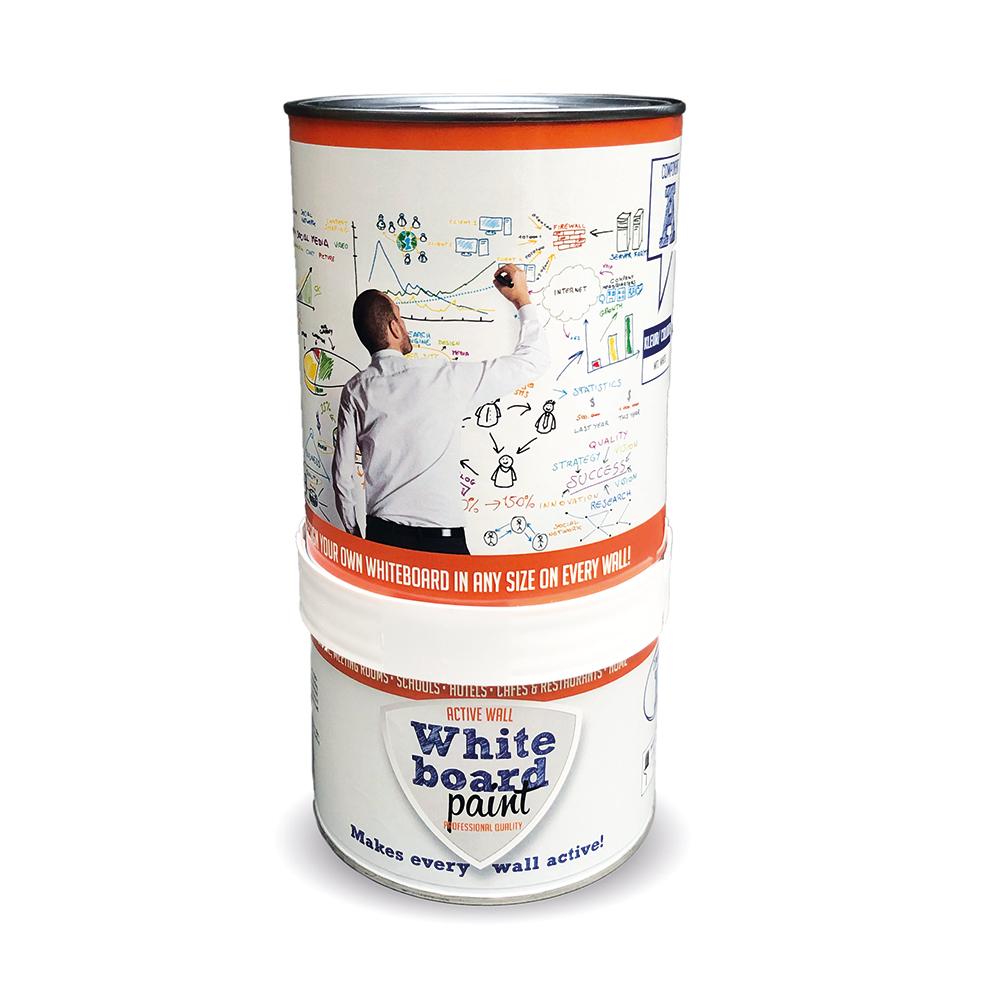 PTC Whiteboard-Farbe weiß, 0,5 L 230004004