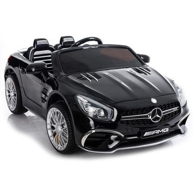AUTO ELETTRICA PER BAMBINI Mercedes SL65 LICENZIATA 12v 2 POSTI CON TV TOUCH SCREEN