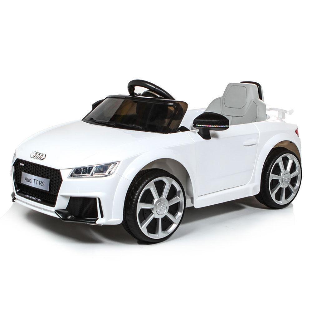 AUTO MACCHINA ELETTRICA PER BAMBINI Audi TT RS 6v PRODOTTO LICENZIATO (Arrivo fine giugno PREORDINA)