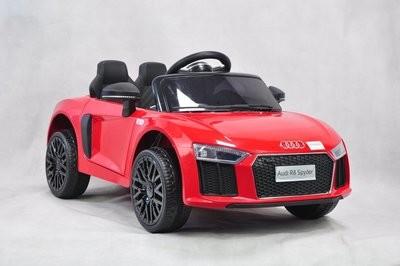 AUTO MACCHINA ELETTRICA PER BAMBINI Audi R8 12v 2 MINI POSTI PRODOTTO LICENZIATO