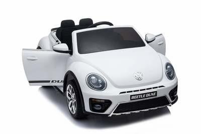 AUTO MACCHINA ELETTRICA PER BAMBINI Volkswagen Maggiolino New Beetle 12v PRODOTTO LICENZIATO