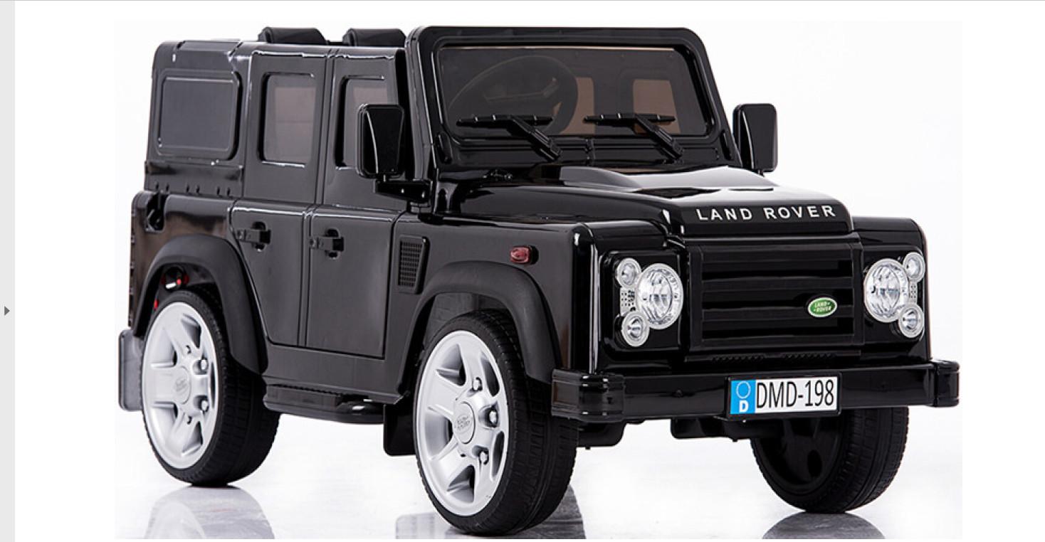 AUTO MACCHINA ELETTRICA PER BAMBINI Land Rover Defender 12v PRODOTTO LICENZIATO