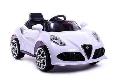 AUTO MACCHINA ELETTRICA PER BAMBINI Alfa Romeo 12v PRODOTTO LICENZIATO