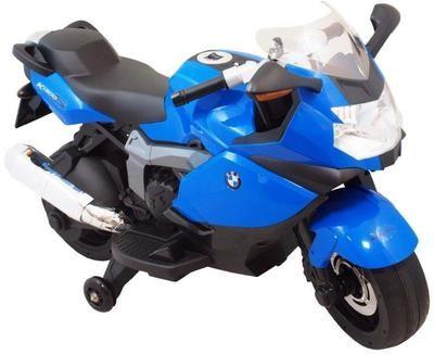 MOTO MOTOCICLETTA ELETTRICA PER BAMBINI Bmw K1300S 12v CON ROTELLE PRODOTTO LICENZIATO