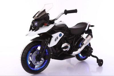 MOTO MOTOCICLETTA ELETTRICA PER BAMBINI FLOWER MODELLO GS 12v CON ROTELLE