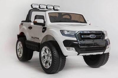 AUTO MACCHINA ELETTRICA PER BAMBINI Pickup Ford Ranger Luxury 12V CON TV TOUCH SCREEN 2 posti PRODOTTO LICENZIATO (Full Optional)