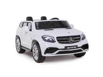 AUTO MACCHINA ELETTRICA PER BAMBINI Mercedes Gls 2 POSTI 12v CON VERNICE METALLIZZATA PRODOTTO LICENZIATO