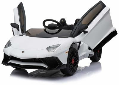 AUTO MACCHINA ELETTRICA PER BAMBINI Lamborghini Aventador 12v PRODOTTO LICENZIATO