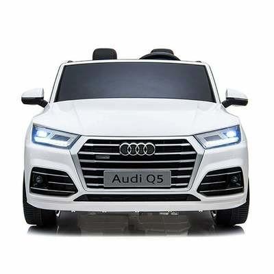 AUTO MACCHINA ELETTRICA PER BAMBINI Audi Q5 S-Line 12v 2 POSTI CON TV TOUCH SCREEN + ARIA CONDIZIONATA