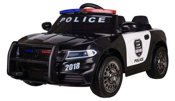 AUTO MACCHINA ELETTRICA PER BAMBINI Police (POLIZIA) 12v