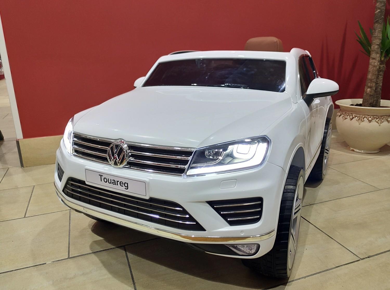 AUTO ELETTRICA PER BAMBINI Volkswagen Touareg 12v PRODOTTO LICENZIATO