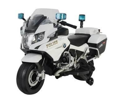 MOTO MOTOCICLETTA PER BAMBINI Police (POLIZIA) BMW R1200 12v PRODOTTO LICENZIATO
