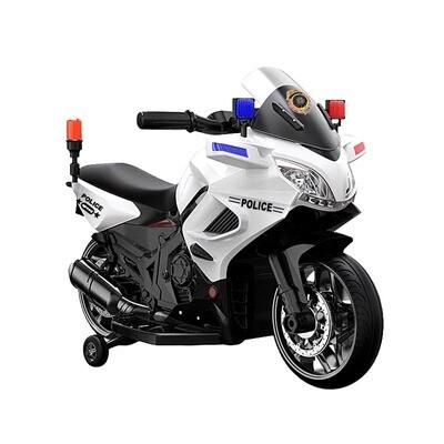 MOTO MOTOCICLETTA Police New (polizia) 6v