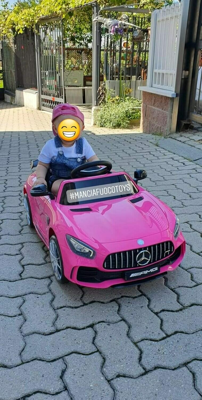AUTO MACCHINA ELETTRICA Mercedes GTR 12v PRODOTTO UFFICIALE